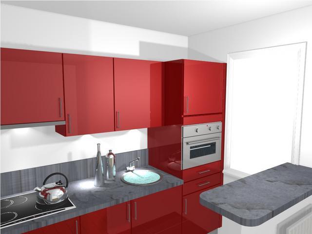 projet de cuisine. Black Bedroom Furniture Sets. Home Design Ideas